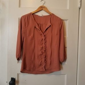 Forever21 Dusty Rose Blouse